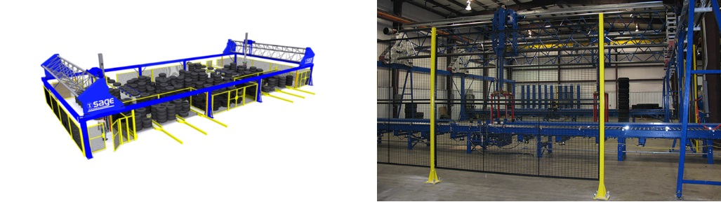 Gantry Robots - Sage Automation Inc